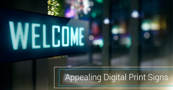 Digital Print Signs