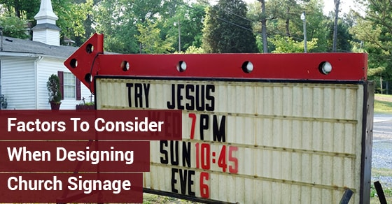 Designing Church Signage