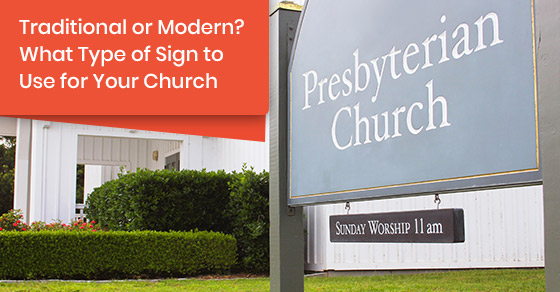 Tips to choose the right sign for churches